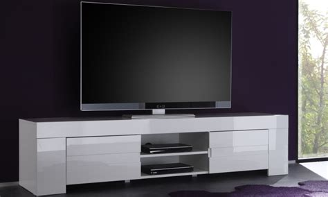 Small Space Dining Table fano long tv unit gloss white finish tv amp media units