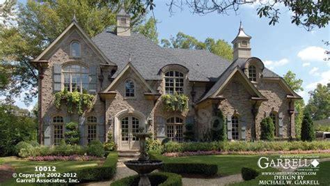 european home design inc garrell associates inc chateau le mont house plan
