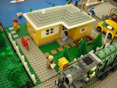 moc usonian style house lego town eurobricks forums moc classic bungalow cad lego town eurobricks forums