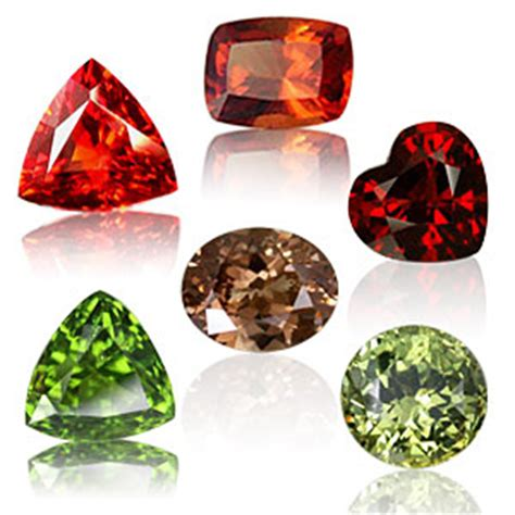 garnet colors garnet facts gemstones semi precious gems jewelry