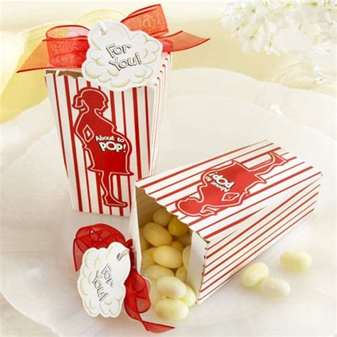 Popcorn Baby Shower Favors by Quot About To Pop Quot Popcorn Favor Boxes About To Pop Favor