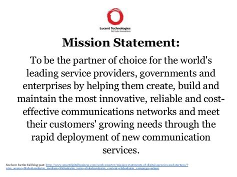 best statements mission vision statements of digital agencies in the uk
