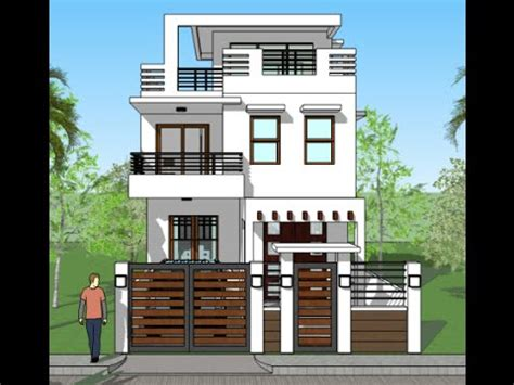 home design 3d baixaki modern house 3d elevations and plans youtube