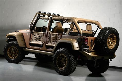Jeep Rubicon No Doors by Custom Jeep Wrangler Unlimited By Starwood Motors