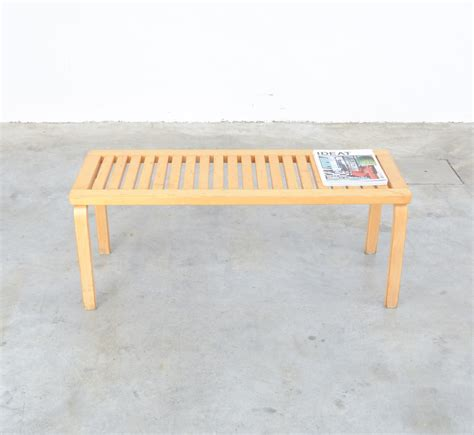 bench model bench model 153a by alvar aalto for artek 1970s for sale