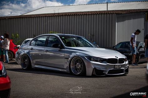 bmw m3 stanced stanced bmw m3 f80 with rotiform