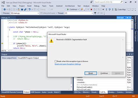 python tutorial quick using python quick debug to debug external python scripts