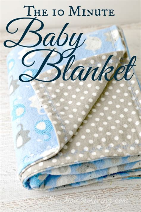 how to make a baby comforter 10 minute simple baby receiving blanket pattern