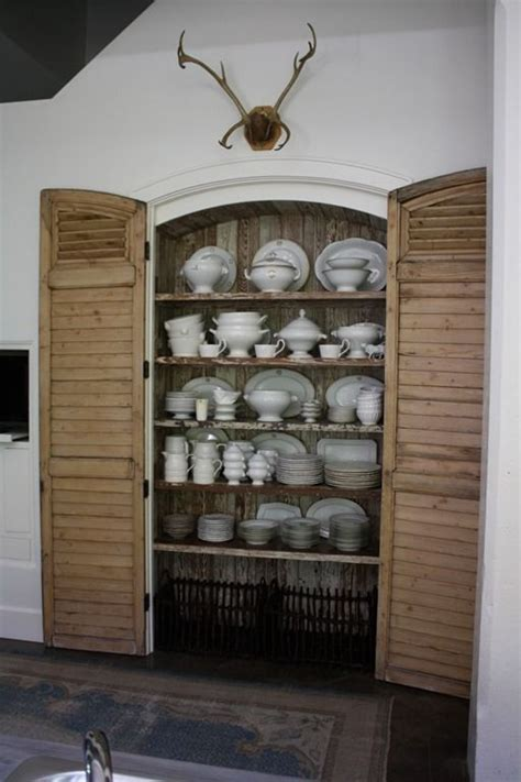 160 Best Images About Butlers Pantry Bar Area On Shutter Doors For Closets