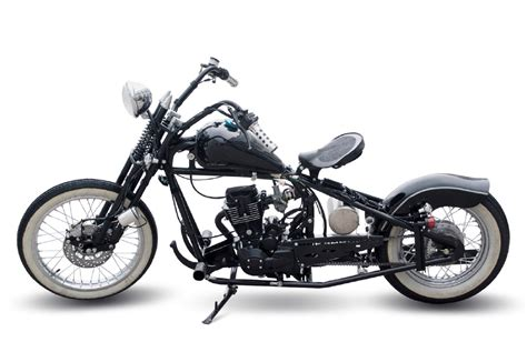 125ccm Motorrad Harley by Knockout Bikes Bobber One