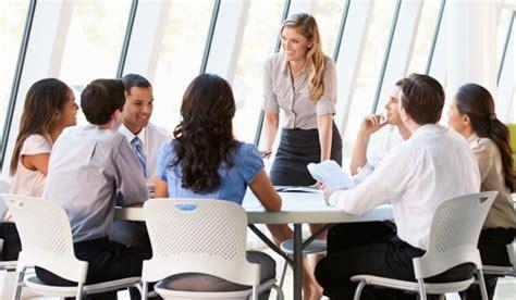 business board meeting in modern office