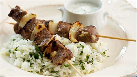 lamb kebabs barbecued greek lamb kebabs for 10 recipe 9kitchen