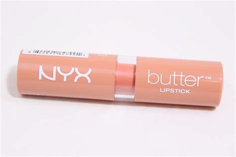 Nyx Butter Lipstick Review nyx butter lipstick in sugar wafer review swatches