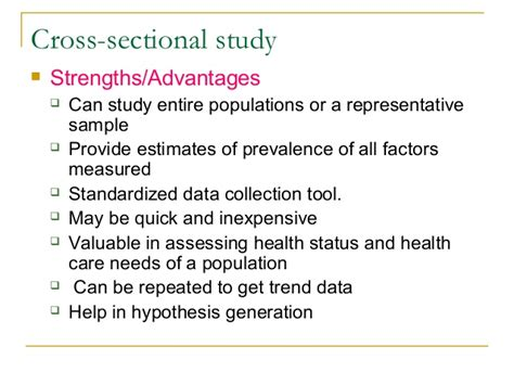 weakness of cross sectional study malimu cross sectional studies