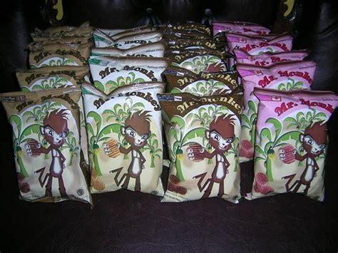 Keripik Pisang Bangnana Chips Non Msg 2 mr monkey waffle banana chips coffee choco strawberry milk