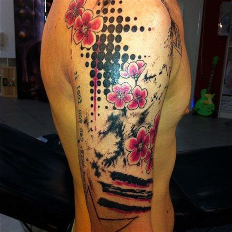 polka dot tattoo designs trash polka search style