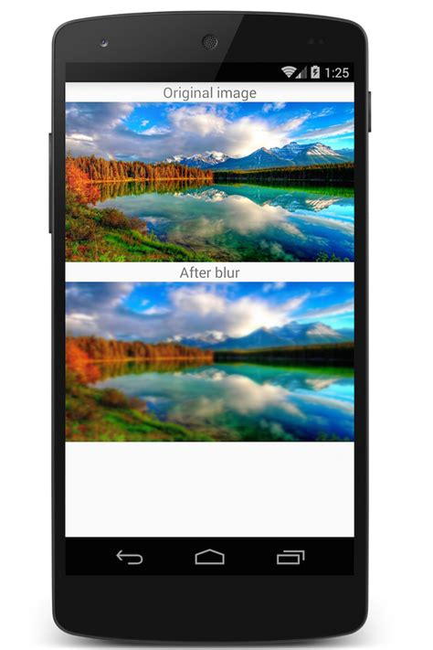 android bitmap how to create a bitmap blur effect in android using renderscript dzone mobile