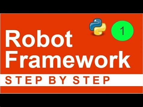 yii2 framework tutorial step by step robot framework beginner tutorial 1 getting started with