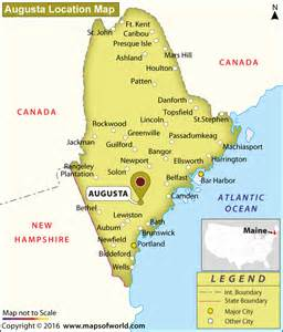 usa map augusta where is augusta maine
