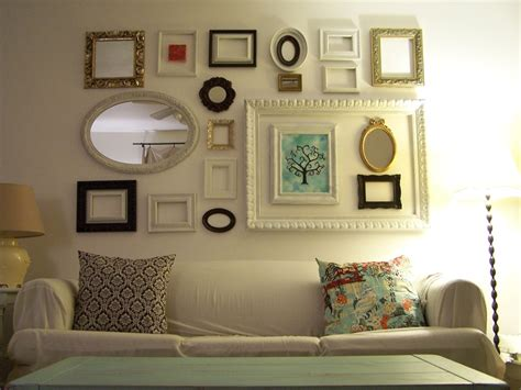 frame ideas frugal and green decorating idea frames kinda crunchy kate