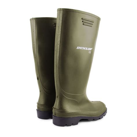 mens wellies boots mens dunlop waterproof walking wellies