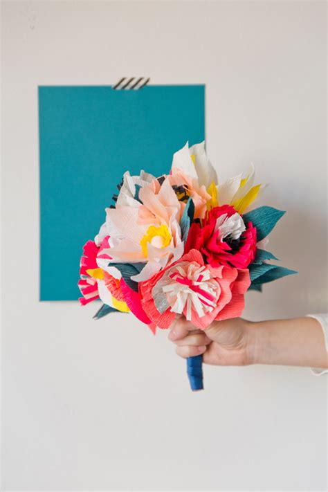 How To Make Paper Bouquet - paper flower bouquet diy