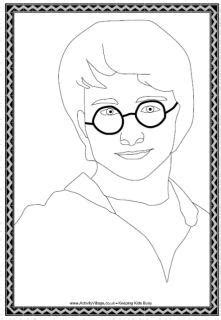 harry potter coloring pages easy harry potter drawings easy sketch coloring page
