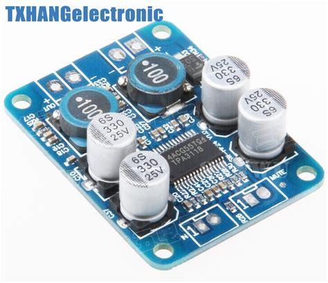 Diy Digital Lifier Board Tpa3118 12 24v Multi Warna Murah っdc 12v 24v tpa3118 btl ᗐ 60w 60w mono digital audio ᐂ power power lifier board module