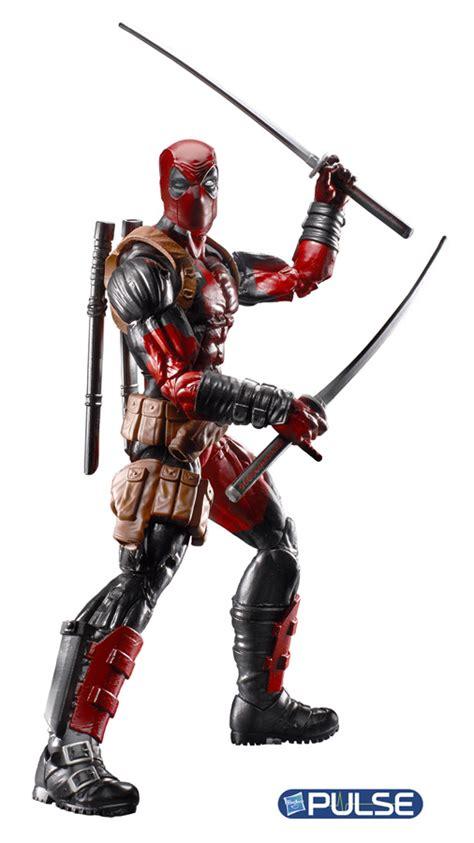 Exclusive Custom Deadpool 2 Terlaris marvel legends series deadpool figure revealed