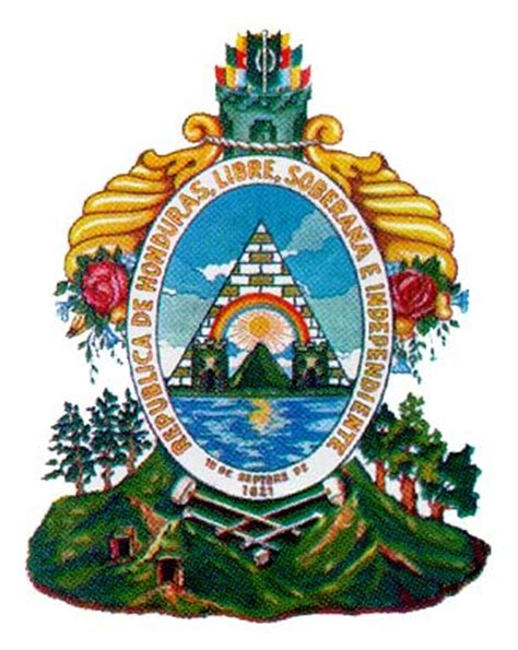 imagenes simbolos nacionales de centroamerica escudo nacional de honduras shey carlos santos trejo