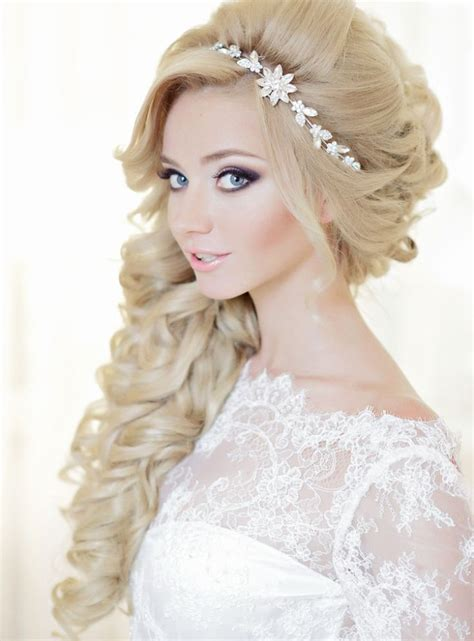 glamorous long hair dos glamorous wedding hairstyles with curls modwedding