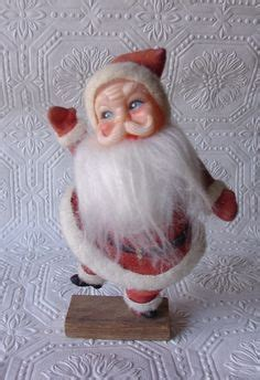 polk brothers santa claus or snowman for sale 1960 s size blowmold celluloid santa claus polk bros promotion authentic ebay vintage