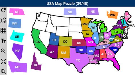 usa map puzzle app usa map puzzle app ranking and store data app