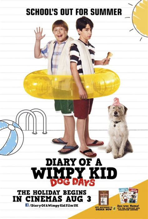 cast of diary of a wimpy kid days diary of a wimpy kid days 2012 poster 1 trailer addict