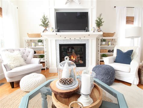 clean cozy neutral winter decorating ideas the happy housie friday s finds swing arm floor ls and our winter