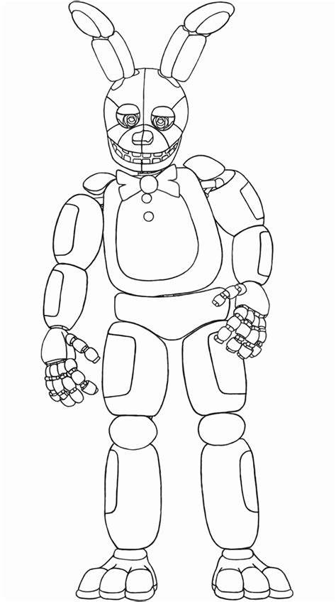 Fnaf Anime Coloring Pages