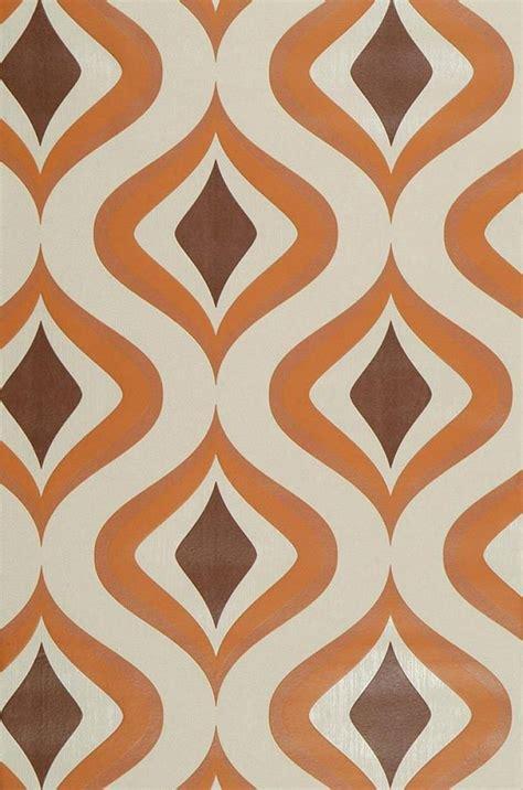 wallpaper easy papier peint triton ivoire clair brun orange papier peint des 233 es 70
