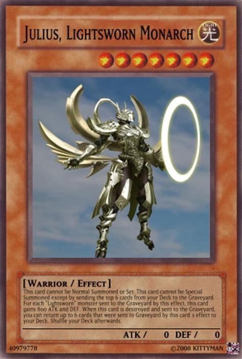 Yugioh Deck Lightsworn Original julius lightsworn monarch yu gi oh card maker wiki