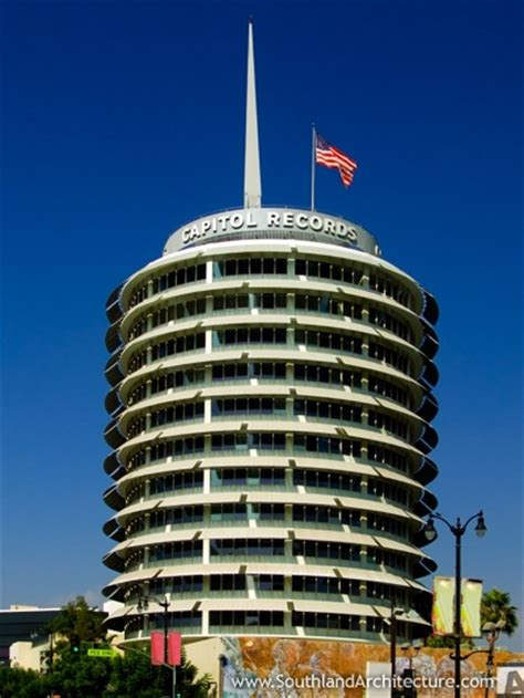 Records Los Angeles Capitol Records Building 1750 Vine Los Angeles California 90028