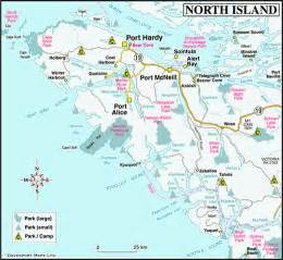 Of Vancouver Map Of Vancouver Island Columbia Travel