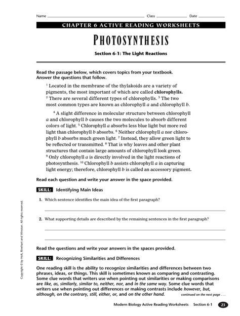 Modern Biology Worksheet Answers Free Printables Worksheet