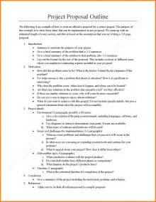Outline For Research Paper History by 4 Exle Of Project Quote Templates
