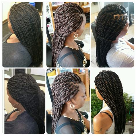 mohawk with senegalese rope twist care for relaxed hair pinterest ghana hairstyles senegalese twist senegalese twists 60