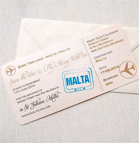Boarding Card Templates by Lots Of Invitations