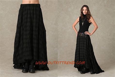 stylish and trendy maxi skirts for