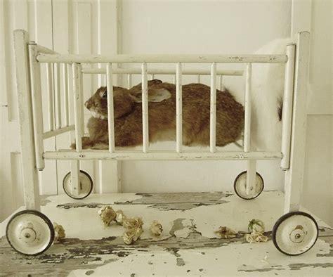 Vintage Doll Crib Wood by Antique Baby Wood Doll Crib On Wheels Charmant