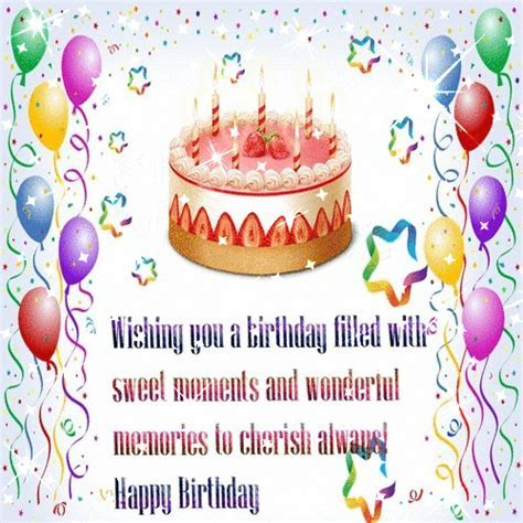 Wish You A Sparkling Birthday. Free For Brother & Sister