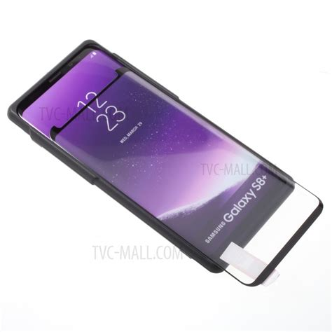 Samsung S8 Tempered Glass 3d Color Screen Protector rurihai for samsung galaxy s8 plus sm g955 3d curved tempered glass screen protector