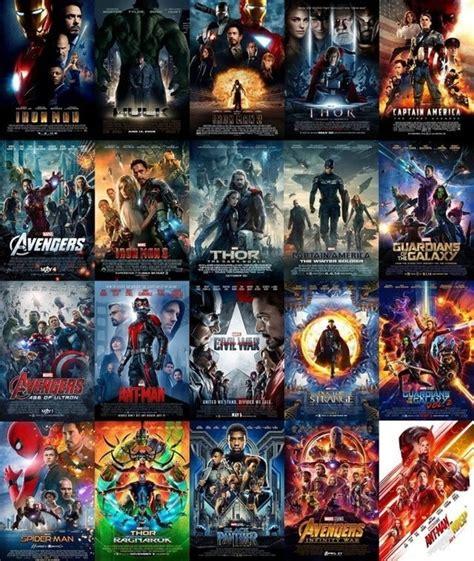 order marvel movies order
