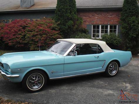1964 1 2 ford mustang convertible 1964 1 2 ford mustang convertible 78 000 southern